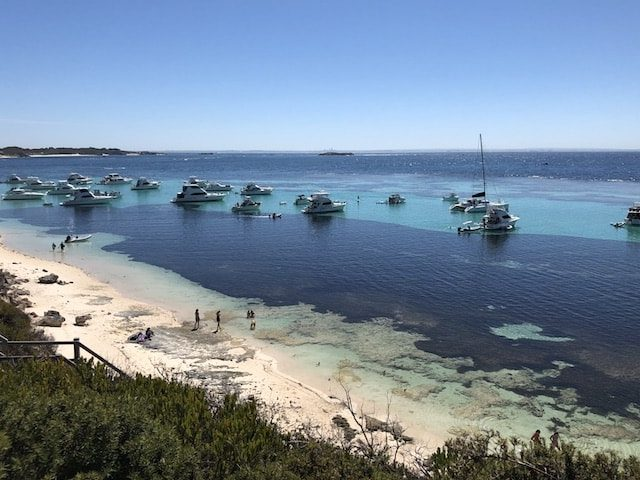 Beautiful view from Rottnest Island in Western Australia